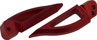 Blade Style Anodized Red Rear Footpeg Set for Suzuki Hayabusa 99-07 (product code: A4262R)