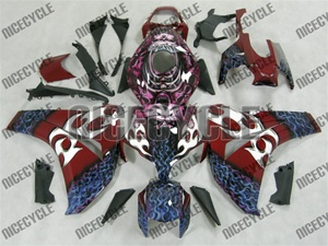 Airbrushed Motorcycle Fairing