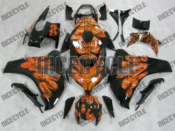 Hand Painted Custom Airbrush Motorcycle Fairings