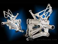 BMW S1000RR ( -'14) / HP4 'FORWARD/ UP' REAR SETS