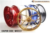 Carrozzeria Wheels Kawasaki