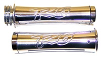 Triple Chromed R6 (99-02) Curved Grips (product code# CA2955)