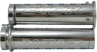 Triple Chromed Straight Grips for Kawasaki ZX6R (product code# CA2973)