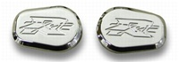 TRIPLE CHROMED - Kawasaki ZX12 Turn Signal Caps (product code# CA2977)