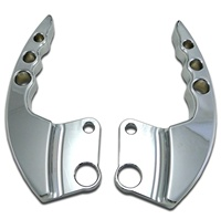 Triple Chrome Hayabusa (99-07) Two Piece Grab Handles (product code# CA3275)
