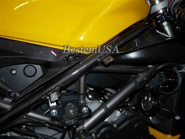Ducati 1098 848 1198 Carbon Fiber Frame Covers