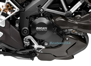 Bestem CBDU-MUL12-FFD Black Carbon Fiber Front Fender for Ducati Multistrada 1200 2010 2013
