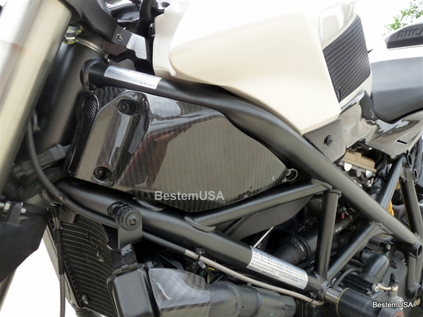 Ducati Streetfighter Carbon Fiber Air Intake Covers