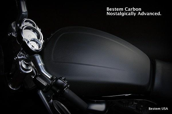 Honda Parts Cheap >> Harley Davidson VRSCF V Rod Muscle Carbon Fiber Tank Cover, Matte Finish