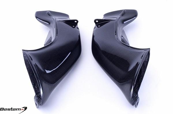 Honda Parts Cheap >> Yamaha YZF-R1 04-06 100% Carbon Fiber Ram Air Intake / Ducts