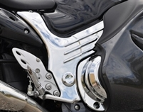SUZUKI HAYABUSA CHROME PLATED FRAME COVERS
