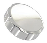 FRONT BRAKE RESERVOIR CAP CHROME NO ENGRAVING