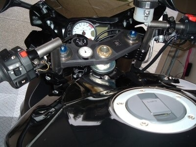 Suzuki GSXR 600 2006-2007 ConvertiBARS Handlebar Riser System