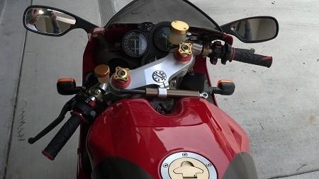 Ducati 748 916 996 998 Convertibars Handlebar Riser System