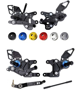 Yamaha R1 Rear Sets