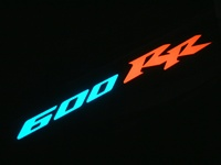 Honda CBR600RR Electriglo Decal