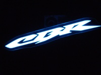 Honda CBR Electriglo Decal