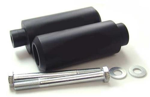 Honda CBR 600 F4 F4i 99 06 Black Extended Frame Sliders