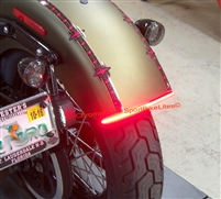 Harley Softail Slim LED Fender Brake Signal Bar
