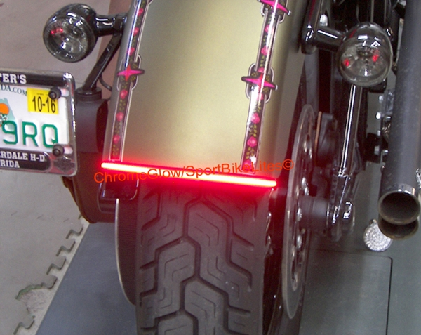 Harley Softail Slim 12 16 Integrated Led Fender Brake