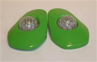 Kawasaki '05-'06 ZX-6r Flushmount Signals by Greggs Customs (Various Colors)