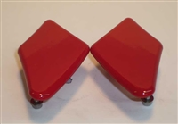 Ducati 848/1098/1198 Mirror Blockoffs by Greggs Customs (Various Colors)