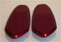 Yamaha '04-'06 R1 Mirror Blockoffs by Greggs Customs (Various Colors)