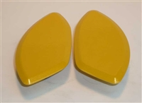 Yamaha '06-'07 R6 Mirror Blockoffs by Greggs Customs (Various Colors)