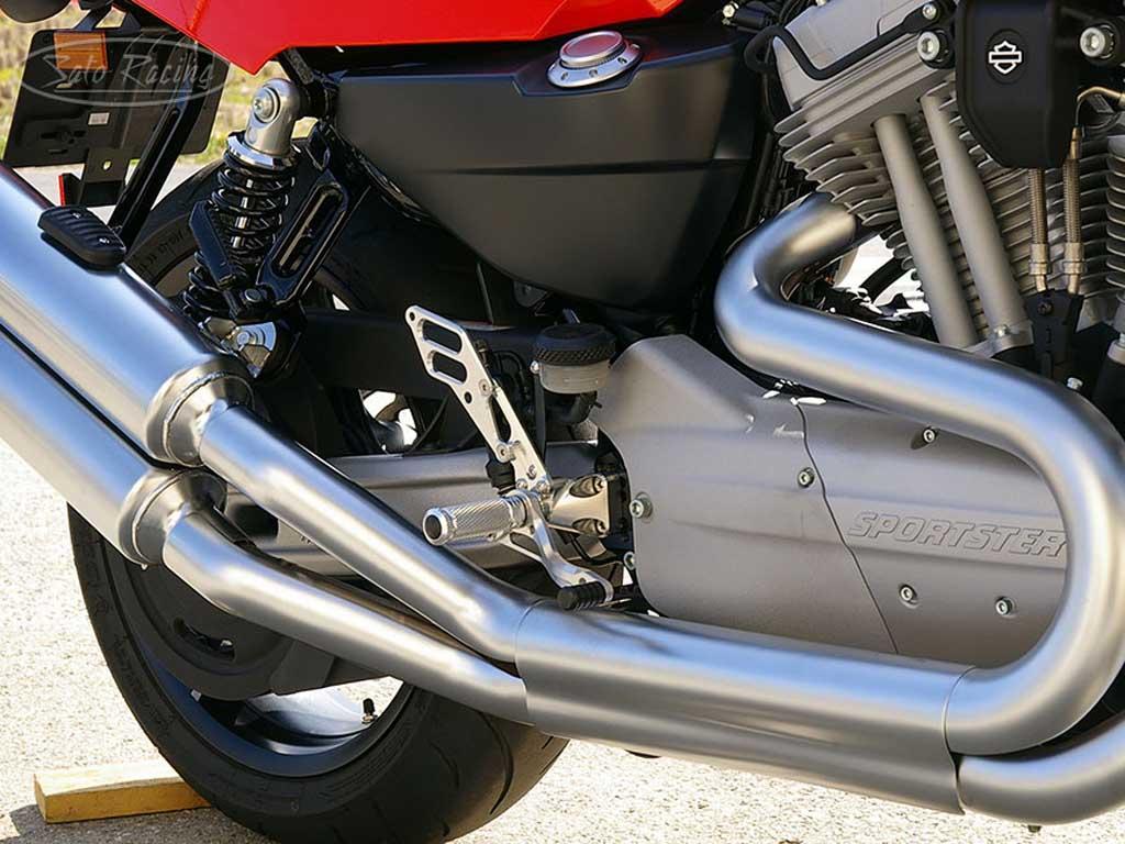 Harley-Davidson Xr1200 Rear Set by Sato Racing
