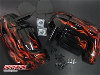 Harley Davidson Vented Lower Fairings Custom