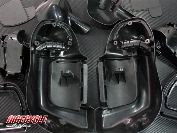 Harley Davidson Windshields >> Harley Davidson Lower Vented Fairings Custom Airbrushed ...