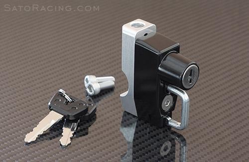 universal helmet locksato racing - 36mm - no mirror mount