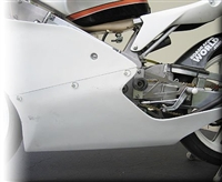 Hotbodies Honda RS125 (02-09) Fiberglass Race Lower