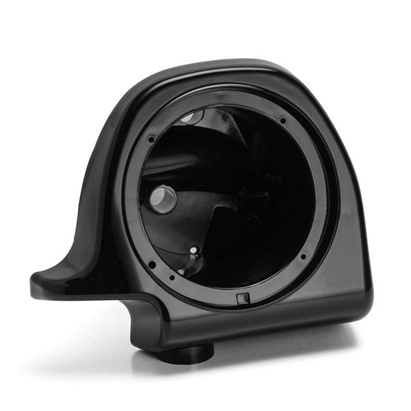 harley davidson lower fairing speaker pods 6 5 vivid black hogworkz. Black Bedroom Furniture Sets. Home Design Ideas