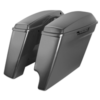 Harley Touring 2-Into-1 Extended 4 Inch Stretched Saddlebags