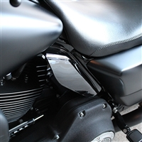 Vivid Black Mid Frame Air Deflectors