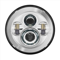 Harley 7 Inch Chrome  Daymaker Headlight