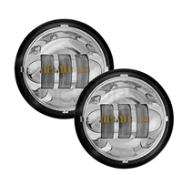 Harley Chrome 4.5 Inch LED Passing Lamps