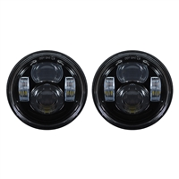 "Blackout 4.65"" LED Harley Daymaker Style Headlight"