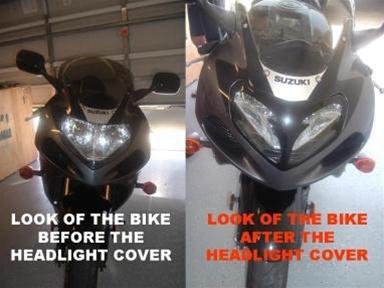 suzuki headlight cover trim gsxr    gsxr    gsxr    gloss black