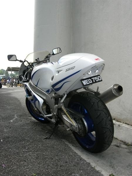 Suzuki Undertail GSXR SRAD 600 1996 2000 750 1999 RED