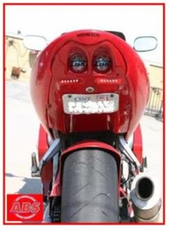 Honda Undertail Cbr 600 F4 1999 2000 F4i 2004 2006 Red