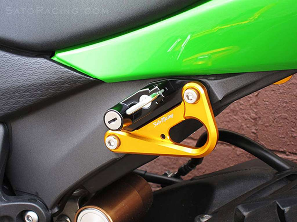 Kawasaki ZX6R 2009 2012 Helmet Lock by Sato Racing : K ZX609HL 2 Motorcycle <strong>Throttle Lock</strong> from www.nicecycle.com size 1024 x 768 jpeg 72kB