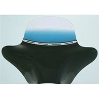 "5"" Blue Colored Memphis Shades Batwing Windshield"