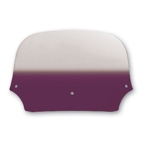 "7"" Gradient Purple Colored Memphis Shades Batwing Windshield"