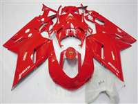 Ducati 1198 1098 848 Evo Solid Red Fairings | ND848-38