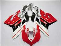 White/Red/Black Ducati 1199 899 Panigale Motorcycle Fairings | ND899-9