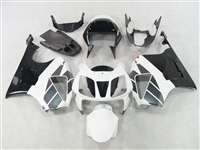 Honda VTR 1000 / RC 51 / RVT 1000 OEM Style White/Black Fairings | NH10006-11