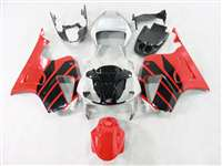 Honda VTR 1000 / RC 51 / RVT 1000 Red/Black/Silver Fairings | NH10006-12