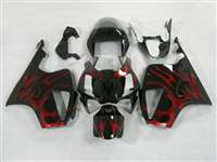 Honda VTR 1000 / RC 51 / RVT 1000 Candy Red Tribal Fairings | NH10006-17